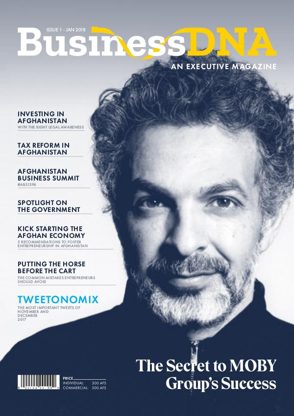BusinessDNA - Magazine Issue 1 - FEB 2018