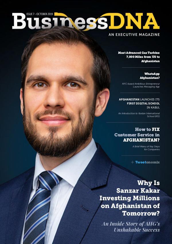 Business DNA - Magazine Issue 7 - OCT 2019