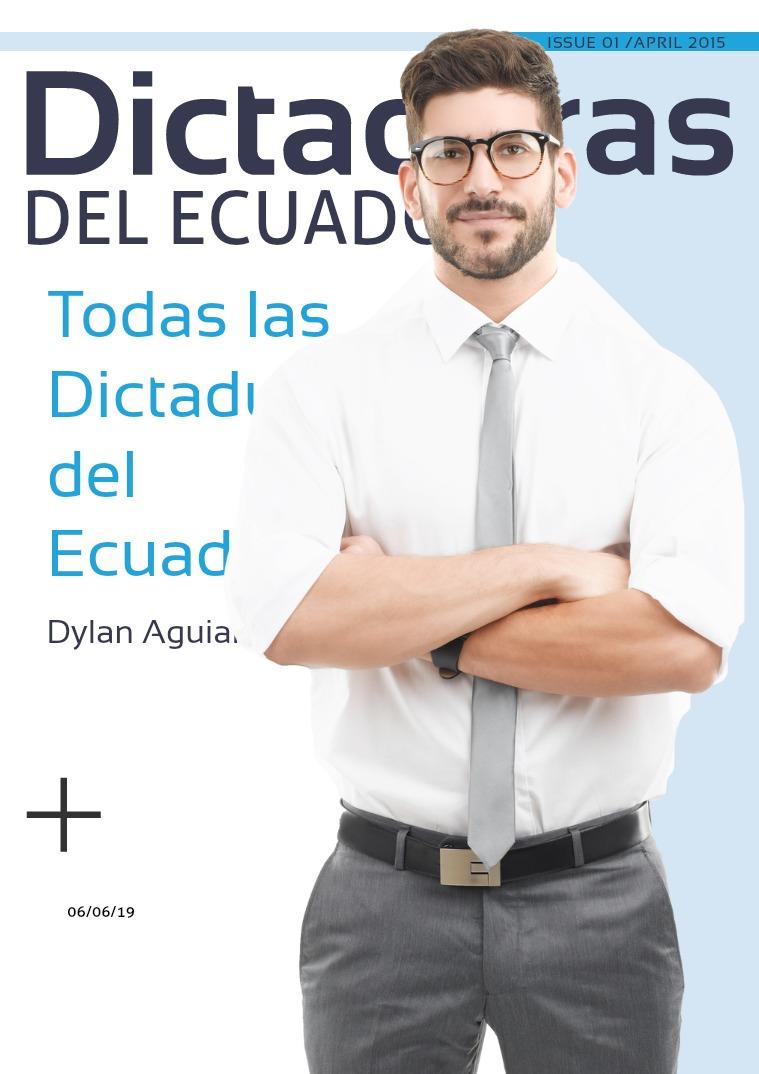LAS DICTADURAS EN EL ECUADOR DICTADURA