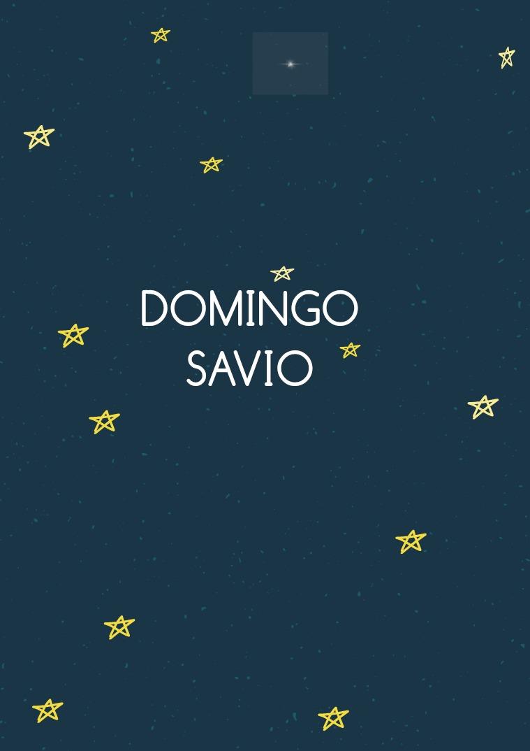 domingo Savio OMINGO SAVIO
