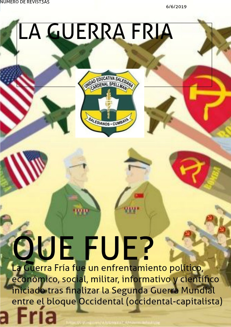 LA GUERRA FRIA GUERRA