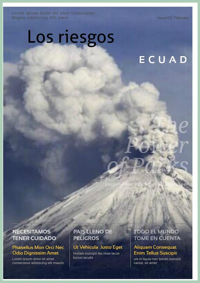Los Riesgos en el Ecuador riesgos en el ecuador