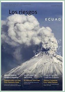 Los Riesgos en el Ecuador