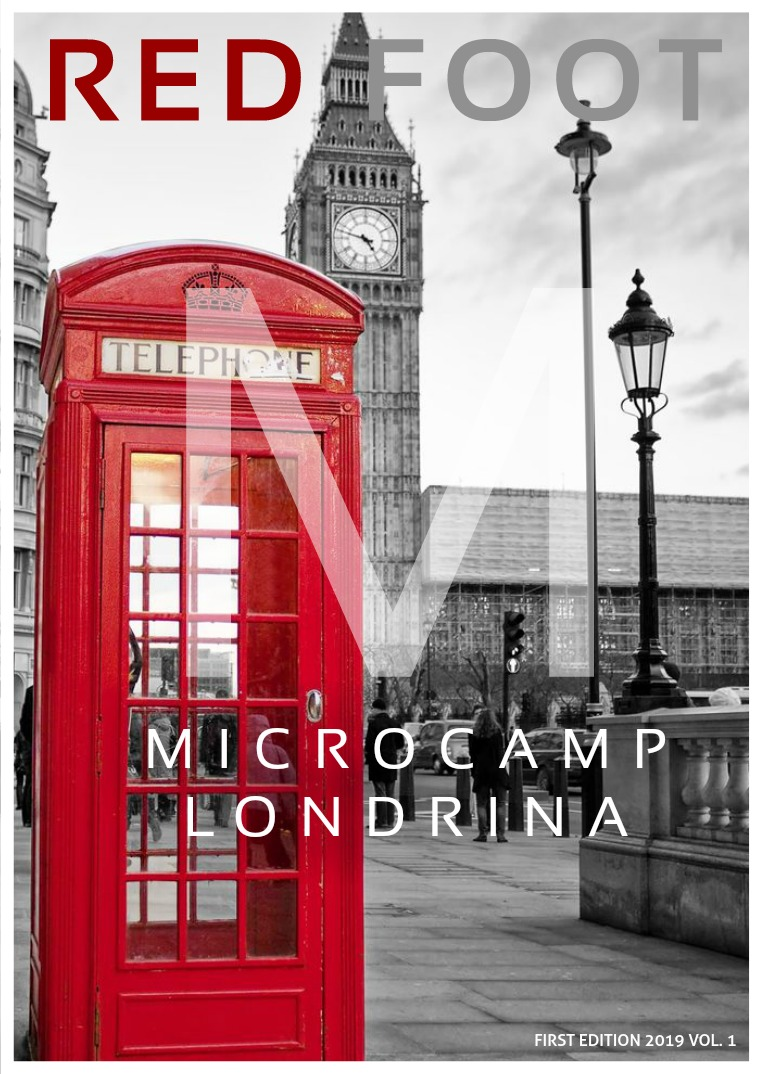 Red Foot - Microcamp-Londrina's Magazine Volume 1