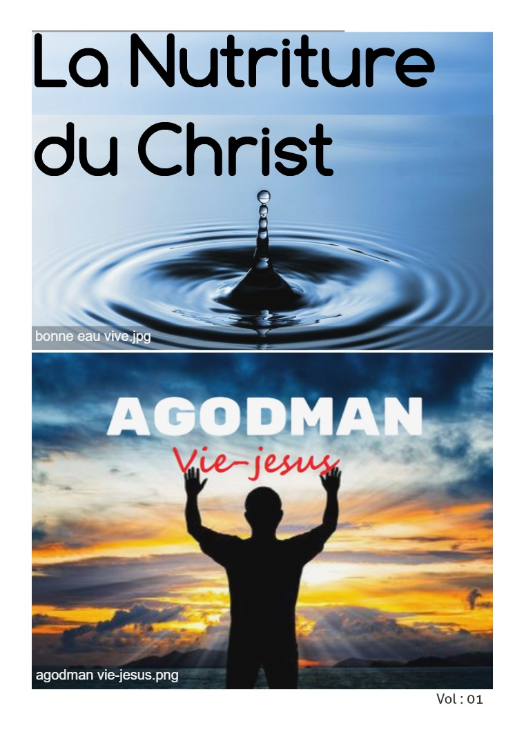 La Nutriture du Christ Vol 1