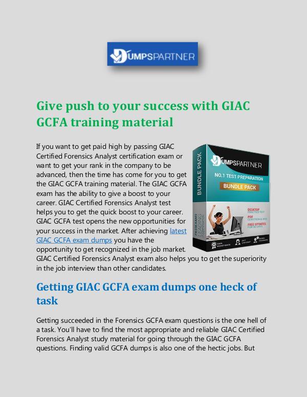 Pass GCFA With Valid GCFA Cheat Sheet Dumps Pass GCFA With