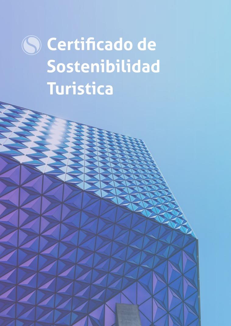 Certificado de Sostenibilidad Turistica programa CST