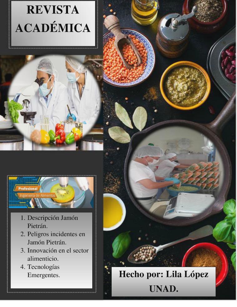 Revista Digital Ing Alimentos Revista academica LILA