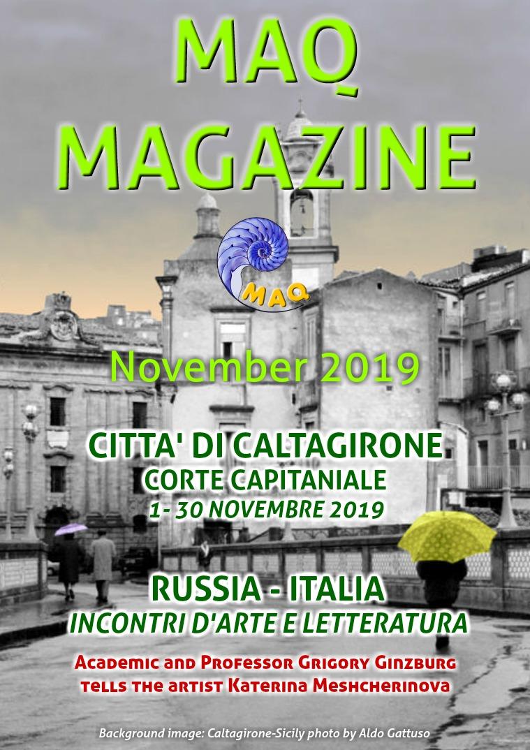 The magazine MAQ October 2019
