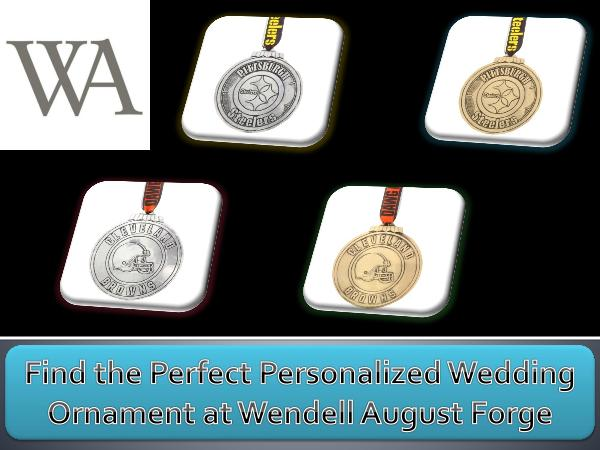 Find the Perfect Personalized Wedding Ornament at Wendell August Forg Find the Perfect Personalized Wedding Ornament at