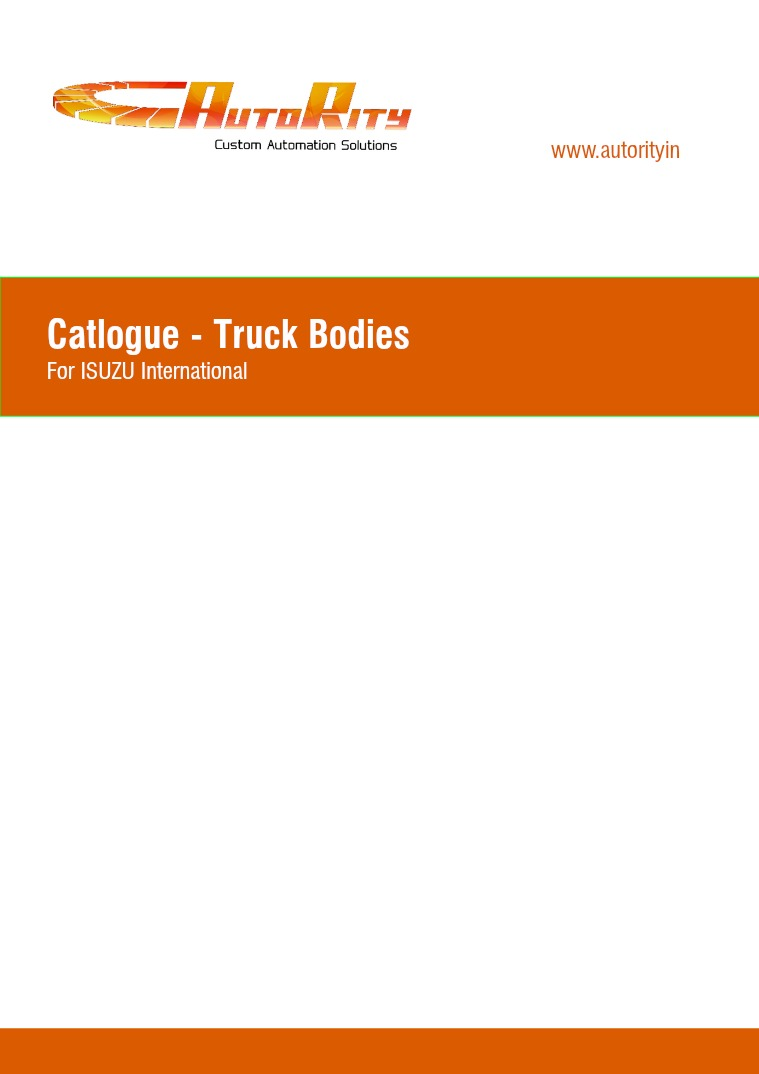 Truck Body Fabrication 01