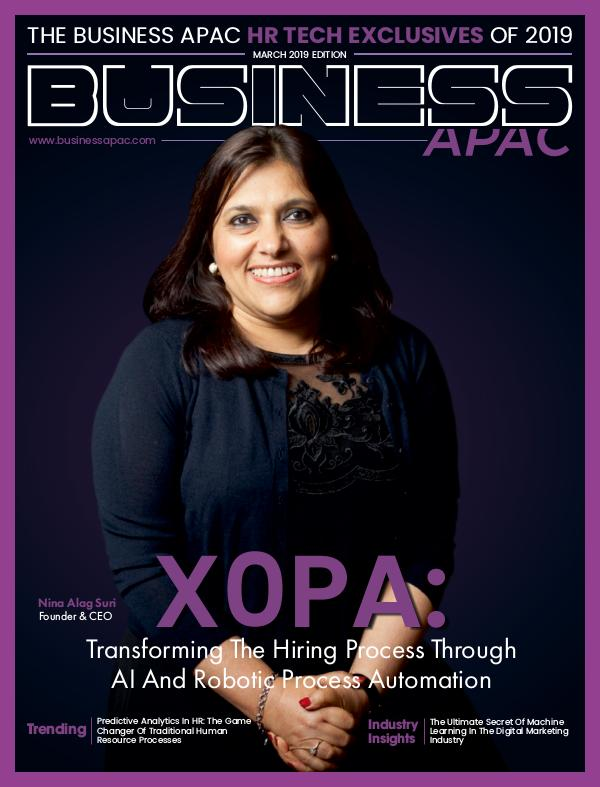 The Business APAC HR Tech Exclusives of 2019 March 2019