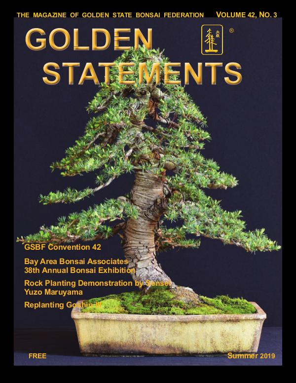 Golden Statements Magazine Summer 2019 Issue Summer Issue 2019