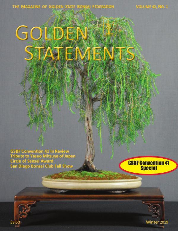Golden Statements Magazine Summer 2019 Issue Winter 2019