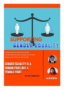 SUPPORTING GENDER EQUALITY