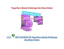 Yoga Burn Booty Challenge Zoe Bray Cotton review