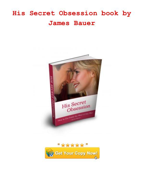 His Secret Obsession James Bauer PDF Download hero instinct 12 words His Secret Obsession hero instinct 12 words text
