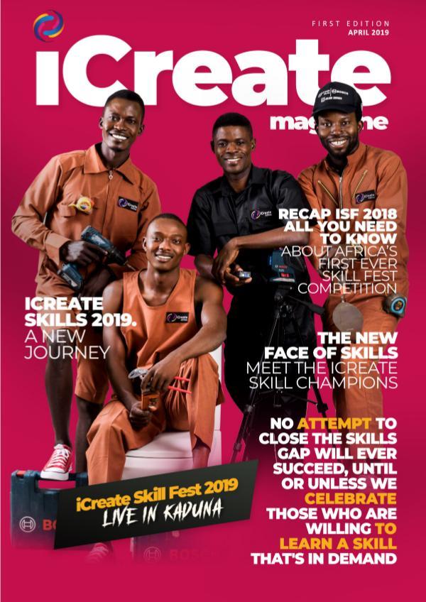 iCreate Magazine iCreate magazine volume 1