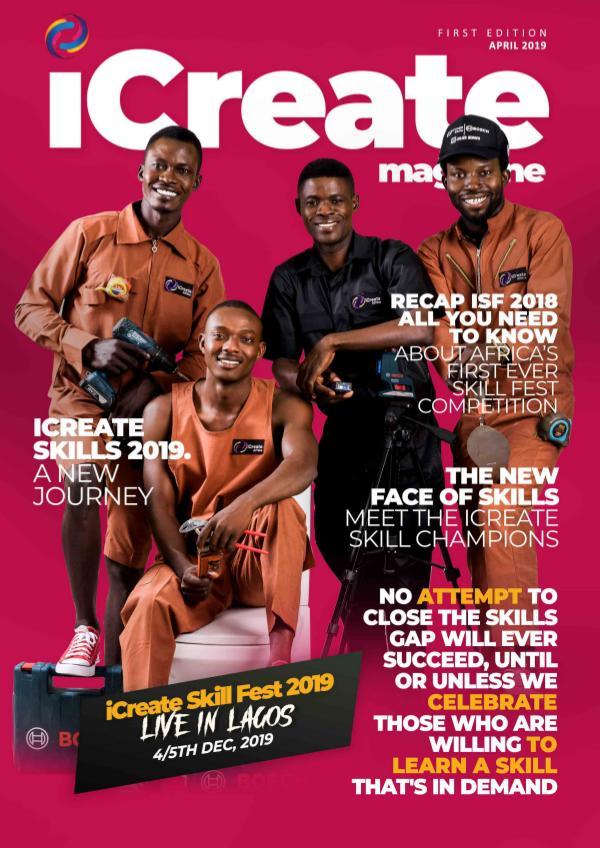 iCreate Magazine iCreate Skills Magazine. Exclusive-Enugu Skill Co