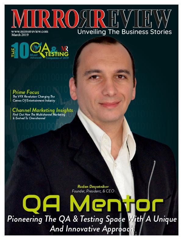 The 10 Most Advanced QA & Testing Companies of 2019 QA & Testing-compressed