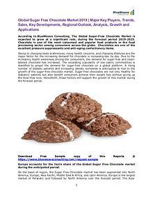 Global Sugar Free Chocolate Market 2019 |