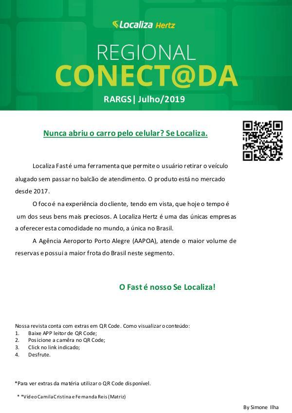 REVISTA CONECTADOS RARGS Revista Regional RARGS - Julho