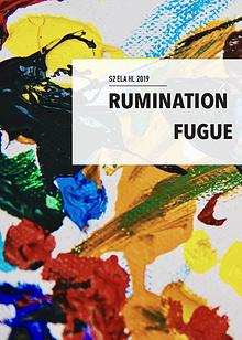 Rumination Fugue Publication