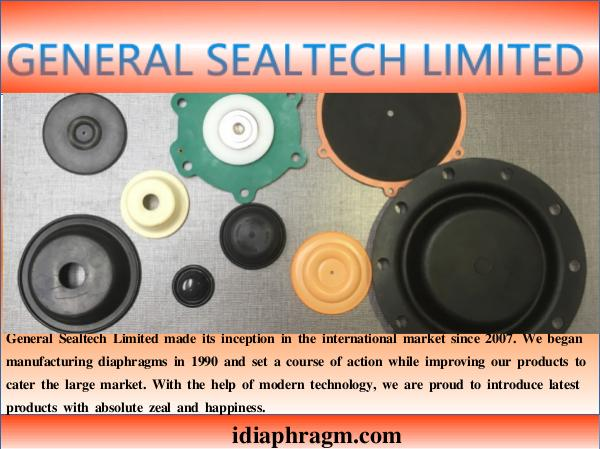 Rubber Diaphragms Actuator Diaphragm