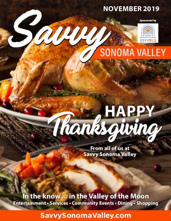 Savvy Sonoma Valley November 2019