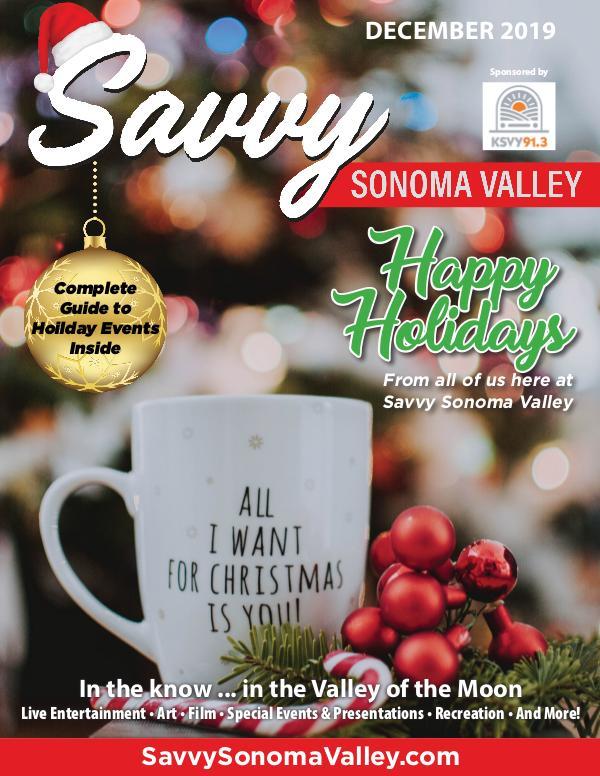 Savvy Sonoma Valley December 2019