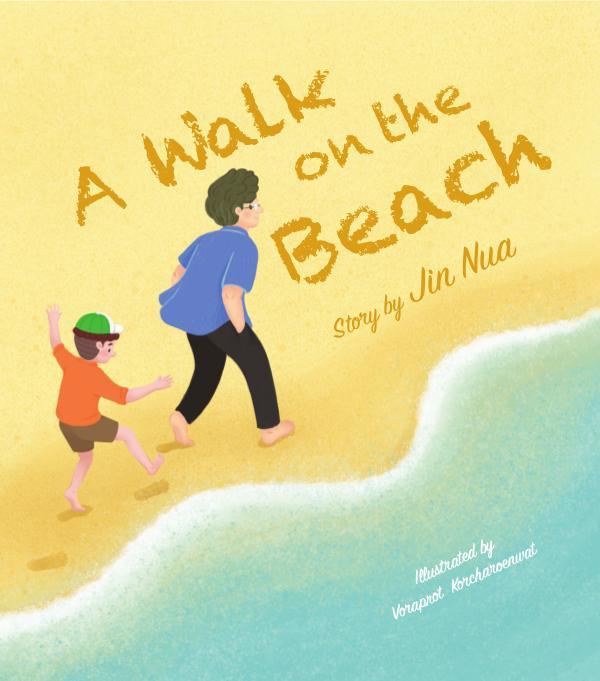 A Walk on the Beach A Walk on the Beach (www.jinnuablog.com)