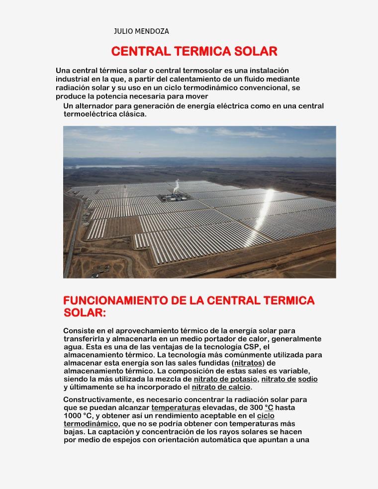 centrales eléctricas JULIO