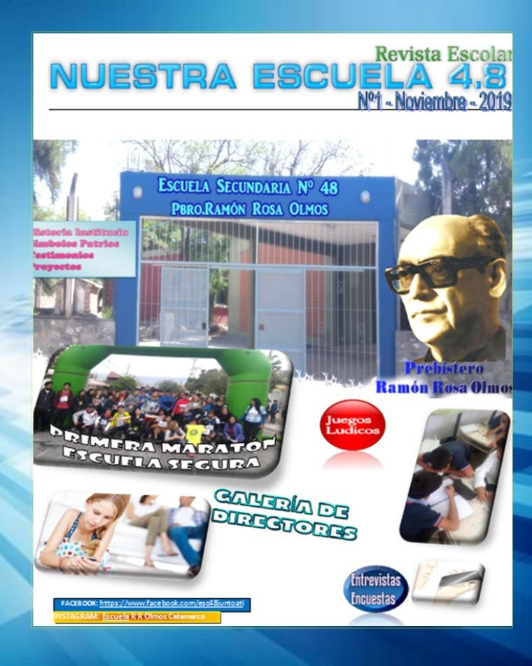 Nuestra Escuela 4.8 REVISTA 48 2019