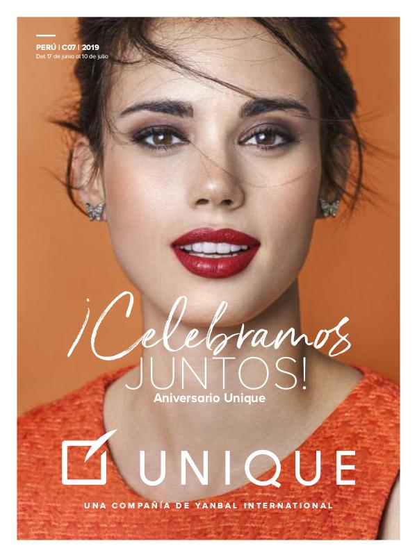Catalogo UNIQUE PERU 07 -2019 ¿Quieres COMPRAR? WHATSAPP 994323931 Catalogouniqueperu_C07_2019