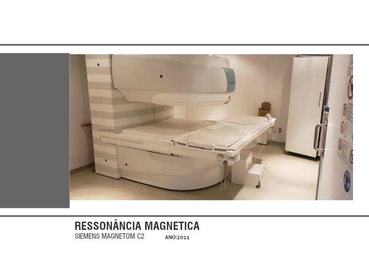 RESSONÂNCIA MAGNÉTICA MAGNETON C2 RM SIEMENS MAGETOM C2
