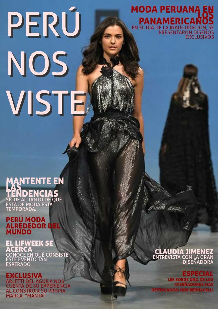 La moda peruana 1