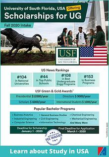 Study in USA? Know about University of South Florida