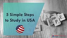 Study in United States in 5 Simple Steps