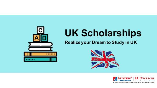 Various Scholarships for international students in UK UK Scholarships Realize your Dream to Study in UK
