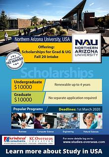 Study at Northern Arizona University, USA