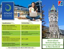 Opportunity of Scholarships in New Zealand