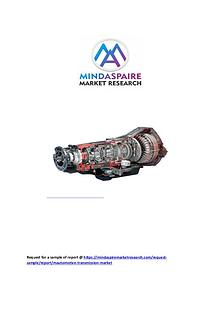 Automotive Transmission Market Expansion Projected to Gain an Uptick