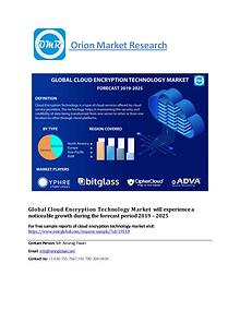 Global Cloud Encryption Technology Market, Forecast-2025