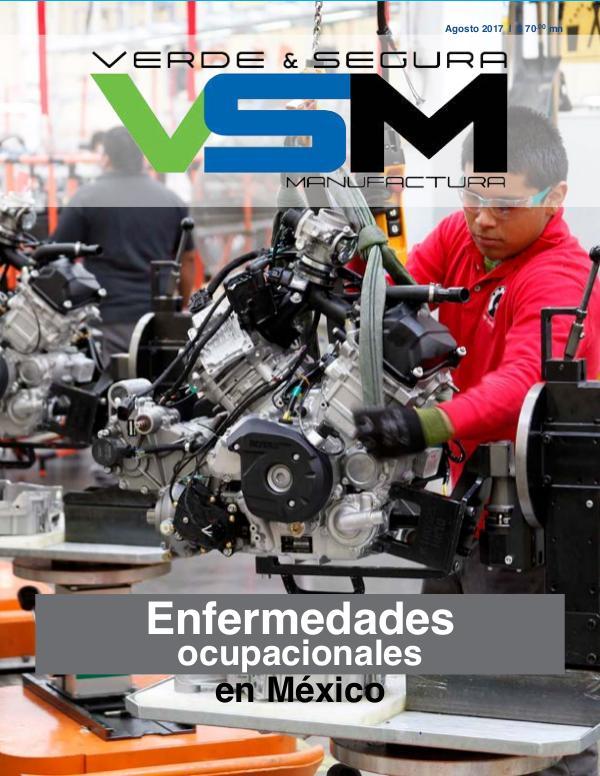 Revista Verde & Segura Manufactura Edición 3. Agosto 2017