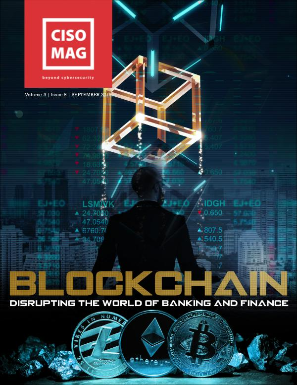 CISO MAG - Cyber Security Magazine & News BLOCKCHAIN - Sept 2019