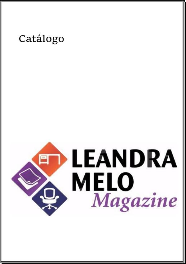 Catálogo Magazine Leandra Melo Catálogo Finalizado