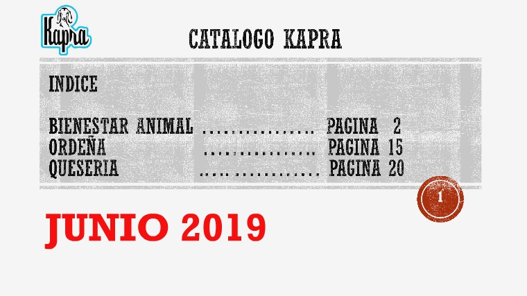 Catalogo Kapra Junio 2019 Catalogo Kapra Junio 2019