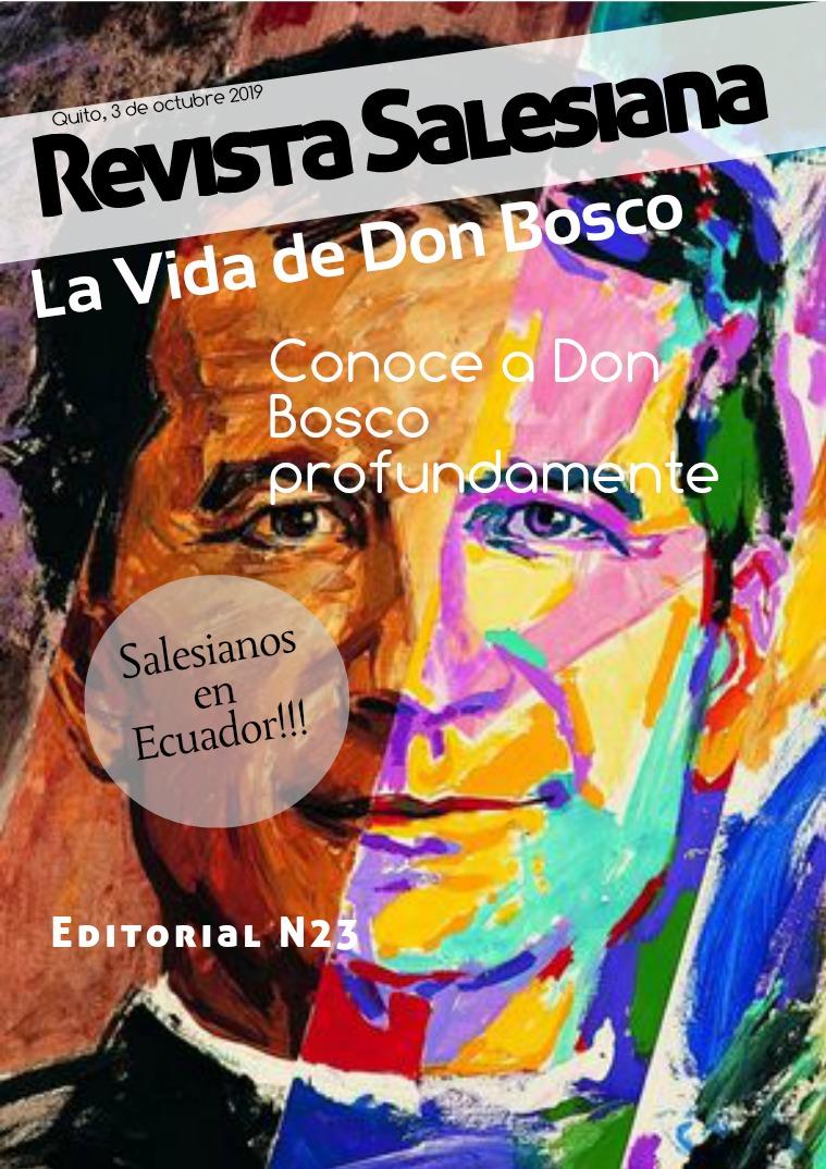 Don Bosco El deseo de estudiar y salir adelante son caracter