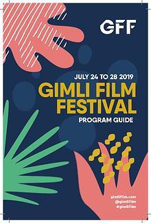Printed Program - Gimli Film Festival 2019