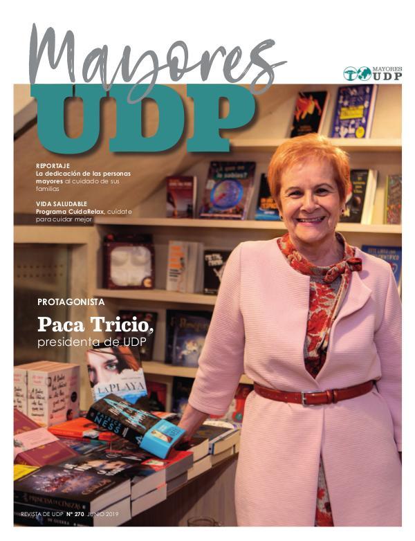 Revista MayoresUDP Nº270 Junio 2019